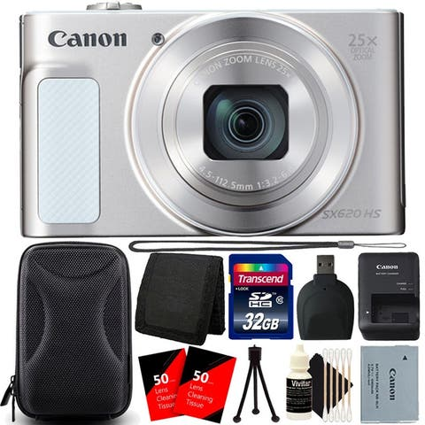 Canon PowerShot SX620 HS 20.2MP Digital Camera with Complete Kit