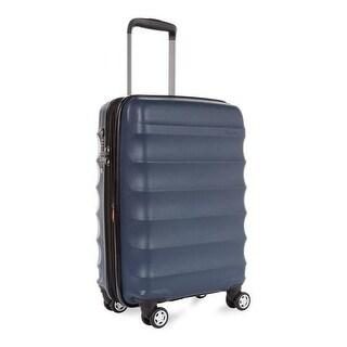 Antler Juno DLX Hardside Expandable Luggage Medium, Navy