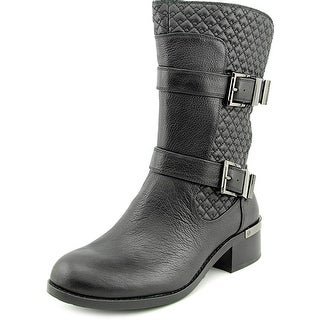 Vince Camuto Welton Women  Round Toe Leather  Mid Calf Boot