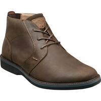 Shop Men S Nunn Bush Patterson Brown Crazy Horse Leather