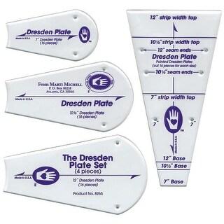 Perfect Patchwork Template-Regular Dresden Plate 4/Pkg