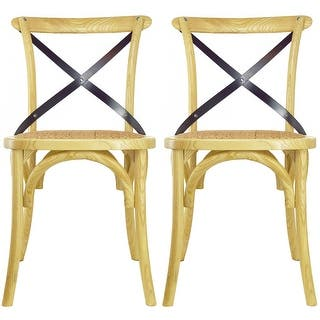 Buy Tan Natural Finish Kitchen Dining Room Chairs Online At Overstock