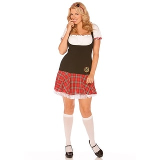 Plus Frisky School Girl Costume