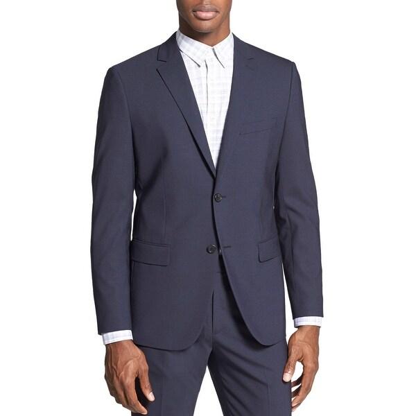 Theory Wellar New Tailor Slim Fit Surge Blue Sportcoat Blazer