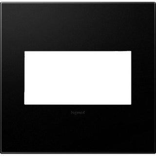 Legrand AWP2GGR4 adorne 2 Gang Plastic Wall Plate - 6.56 Inches Wide