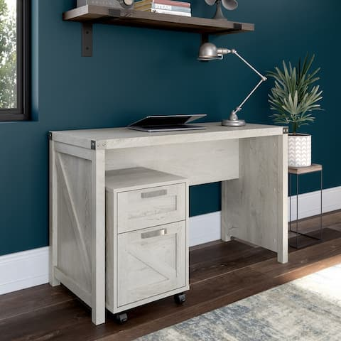 Cottage Grove 48W Writing Desk with Drawers by Bush Furniture