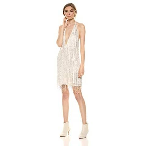 FRENCH CONNECTION White Sleeveless Above The Knee Dress 10
