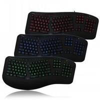 Tru-Form 150 3-Color Illuminated Ergonomic Keyboard