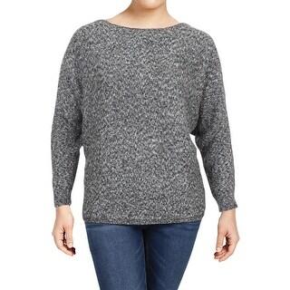 Lauren Ralph Lauren Womens Ashbyn Pullover Sweater Marled Dolman Sleeves