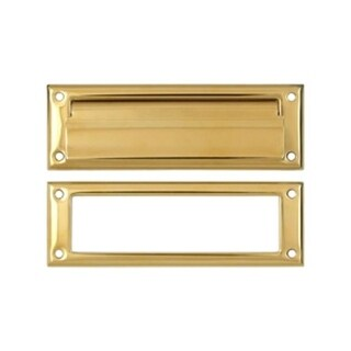 Deltana 8.87 in. Mail Slot with Interior Frame #44; Lifetime
