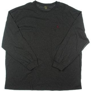 Polo Ralph Lauren Mens Big & Tall Casual Pullover T-Shirt - 3lt