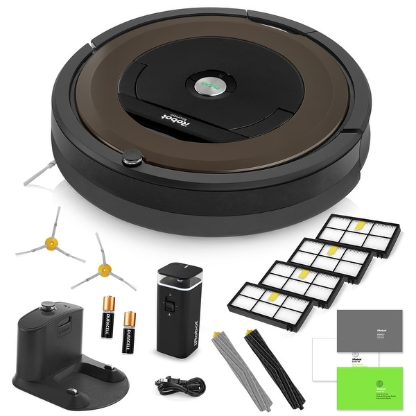 Irobot Roomba 890 Vacuum Cleaning Robot Virtual Wall Barrier 2 Side Brushes 4