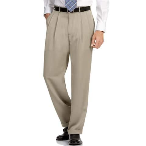 Perry Ellis Mens Non-Iron Dress Pant Slacks