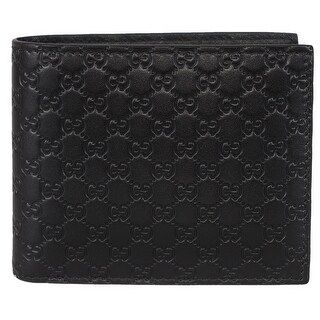 Gucci Men's 260987 Black Leather MICRO GG Guccissima Bifold Wallet|https://ak1.ostkcdn.com/images/products/is/images/direct/bfa32cda96fb9f1628a35acd319c12981576b7d8/Gucci-Men%27s-260987-Black-Leather-MICRO-GG-Guccissima-Bifold-Wallet.jpg?_ostk_perf_=percv&impolicy=medium