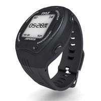Multi-Function Digital LED Sports Training Watch with GPS Navigation (Black Color)