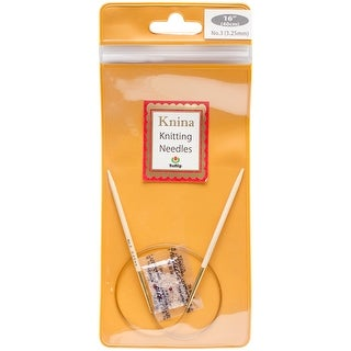 "Tulip Knina Knitting Needles 16""-Size 3/3.25mm"