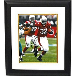 Edgerrin James signed Arizona Cardinals 8x10 Photo Custom Framed