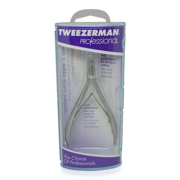 Tweezerman Rockhard Cuticle Nipper 1/2 Jaw