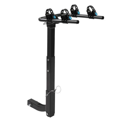 2-Bike Rack, with 2Inch Hitch Receiver, for Car Truck SUV Minivan