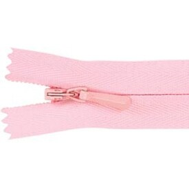 "Pink - Unique Invisible Zipper 22"""