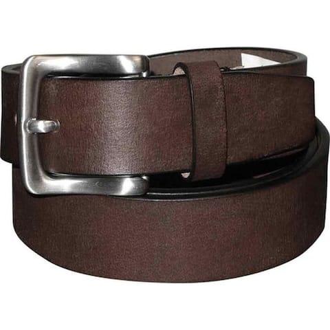 Buxton Men's Tahoe Casual Belt Brown