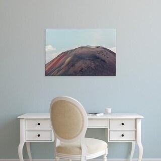 Easy Art Prints Alida Latham's 'Active Volcano Landscape' Premium Canvas Art
