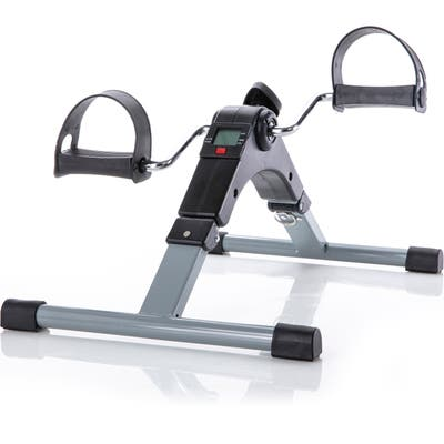 Folding Pedal Exercise Bike to Strengthen and Tone Legs or Arms