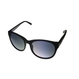 Kenneth Cole New York Mens Sunglass Modified Round Black, Smoke Lens KC7013 1B - Medium