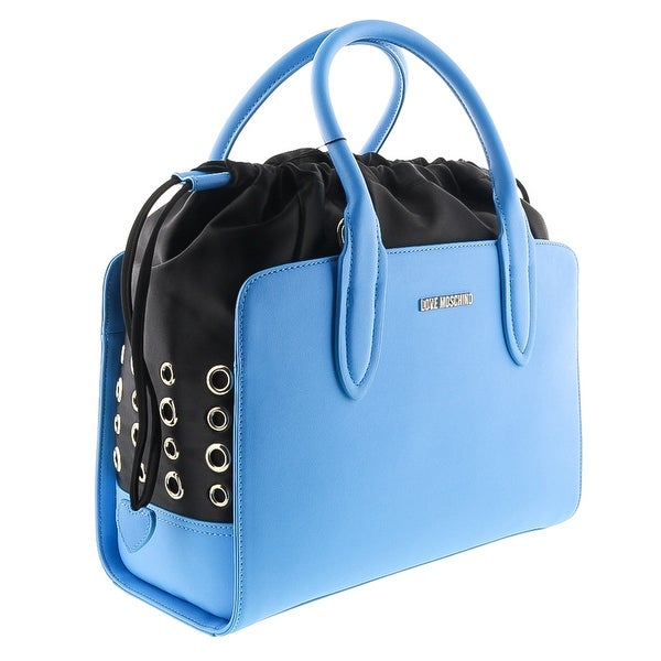 Moschino JC4283 0750 Blue Satchel/Shoulder Bag - 13-9-6