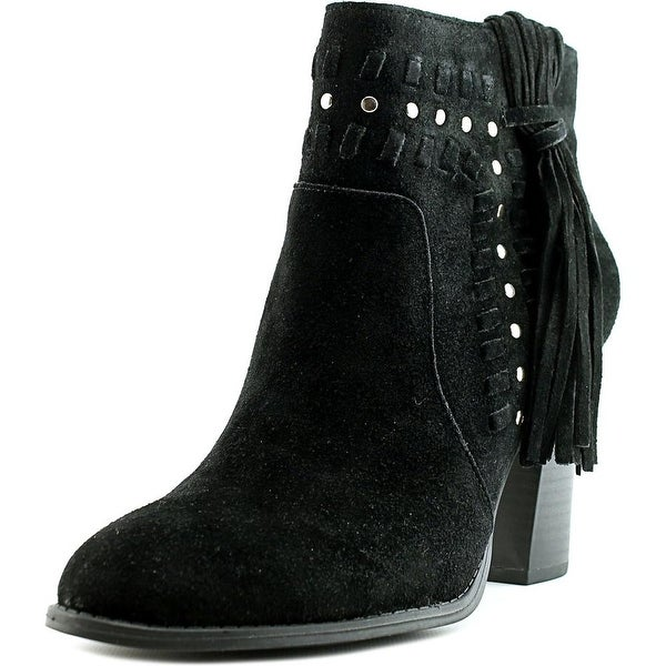 INC International Concepts Jade Boot Women Black Boots