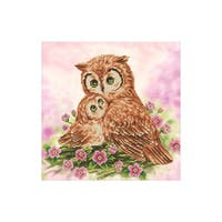 Diamond Dotz Kit Intermediate Mother & Baby Owl