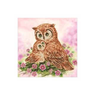Diamond Dotz Kit Intermediate Mother & Baby Owl