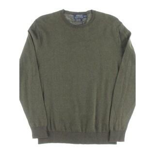 Polo Ralph Lauren Mens Big & Tall Sweater Cotton Crew Neck