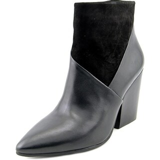 Vince Camuto Raylan Women Pointed Toe Leather Black Ankle Boot