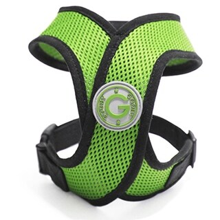 Comfort X Dog Harness by Gooby - Green - Small