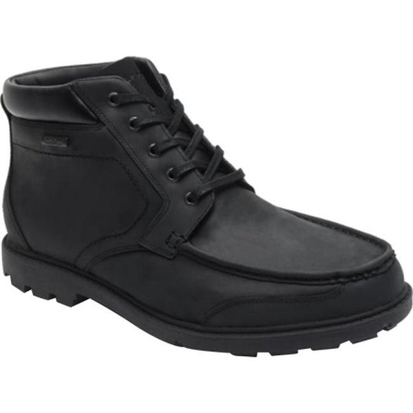 Shop Rockport Men S Rugged Bucks Waterproof Moc Toe Boot