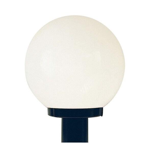 "Sunset Lighting F9152 1-Light 12"" Height Outdoor Post Light - Black - N/A"