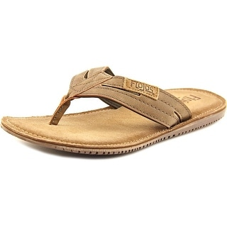 Flojos Alonzo Open Toe Synthetic Thong Sandal
