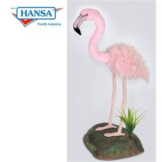 Hansa 6771 Flamingo Pink With stand 28 in. H