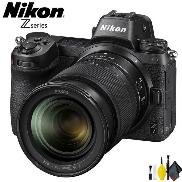 Nikon Z7 Mirrorless Digital Camera with 24-70mm Lens Intl Model. Opens flyout.