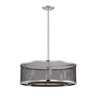 """Savoy House 7-3090-6 Valcour 6 Light 24"""" Wide 1 Tier Drum Chandelier"""