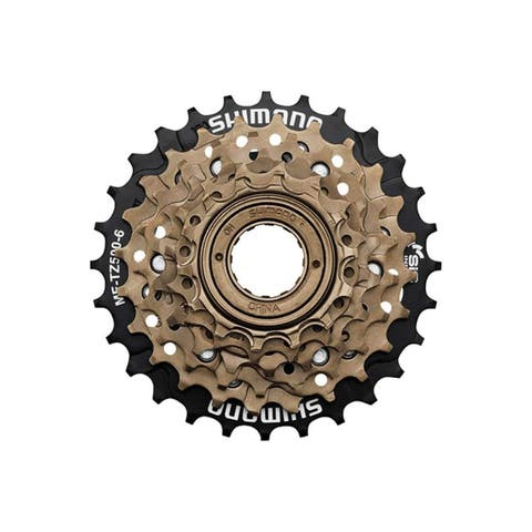 Shimano MF-TZ500 Tourney Bicycle Mega-range Multi Freewheel 6 Speed 14-28T