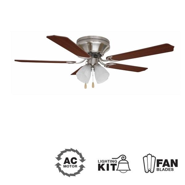 """Ellington Fans BRC525C Brilliante 52"""" 5 Blade Indoor Hugger Ceiling Fan - Blades and Light Kit Included - n/a"""
