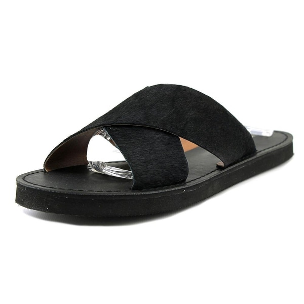Lucky Brand Dadeen 2 Women Open Toe Suede Slides Sandal