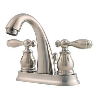Pfister F048UNKK Unison Two Handle Lavatory Faucet, 4""