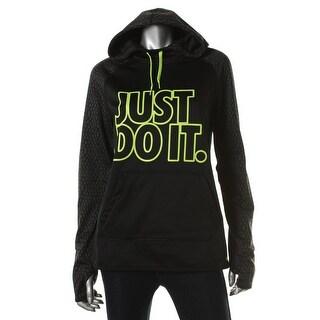 Nike Womens Hoodie Therma-Fit Printed - M