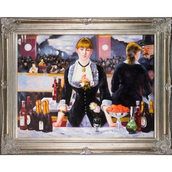 A Bar At The Folies Bergere Manet Shop Edouard Manet 'A ...