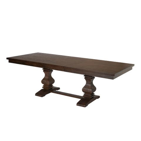 Best Quality Furniture Rectangular Walnut Extension Dining Table