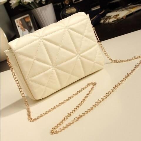New Fashion Women Messenger Bag Mini Small Crossbody Chain Diamond Lattice Chain Bags Shoulder Bags Purses and Handbags