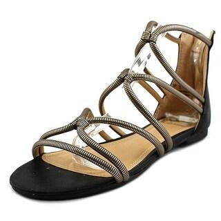 Fergalicious Vivian Open Toe Synthetic Gladiator Sandal